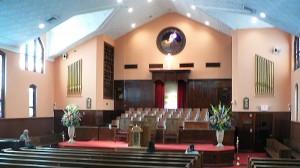 Kirken der Martin Luther King holdt sine gudstjenester.